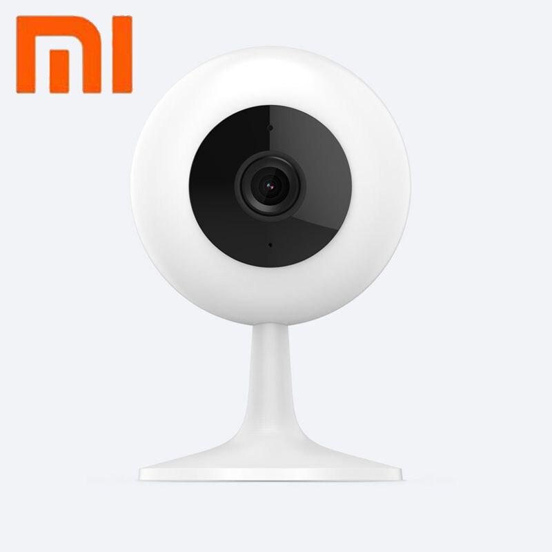 Original Xiao mi mi jia Câmera HD 720P Sem Fio Wi-fi Inteligente Câmera de Infravermelho Night Vision 100.4 Graus Wide Angle mi Casa Câmera
