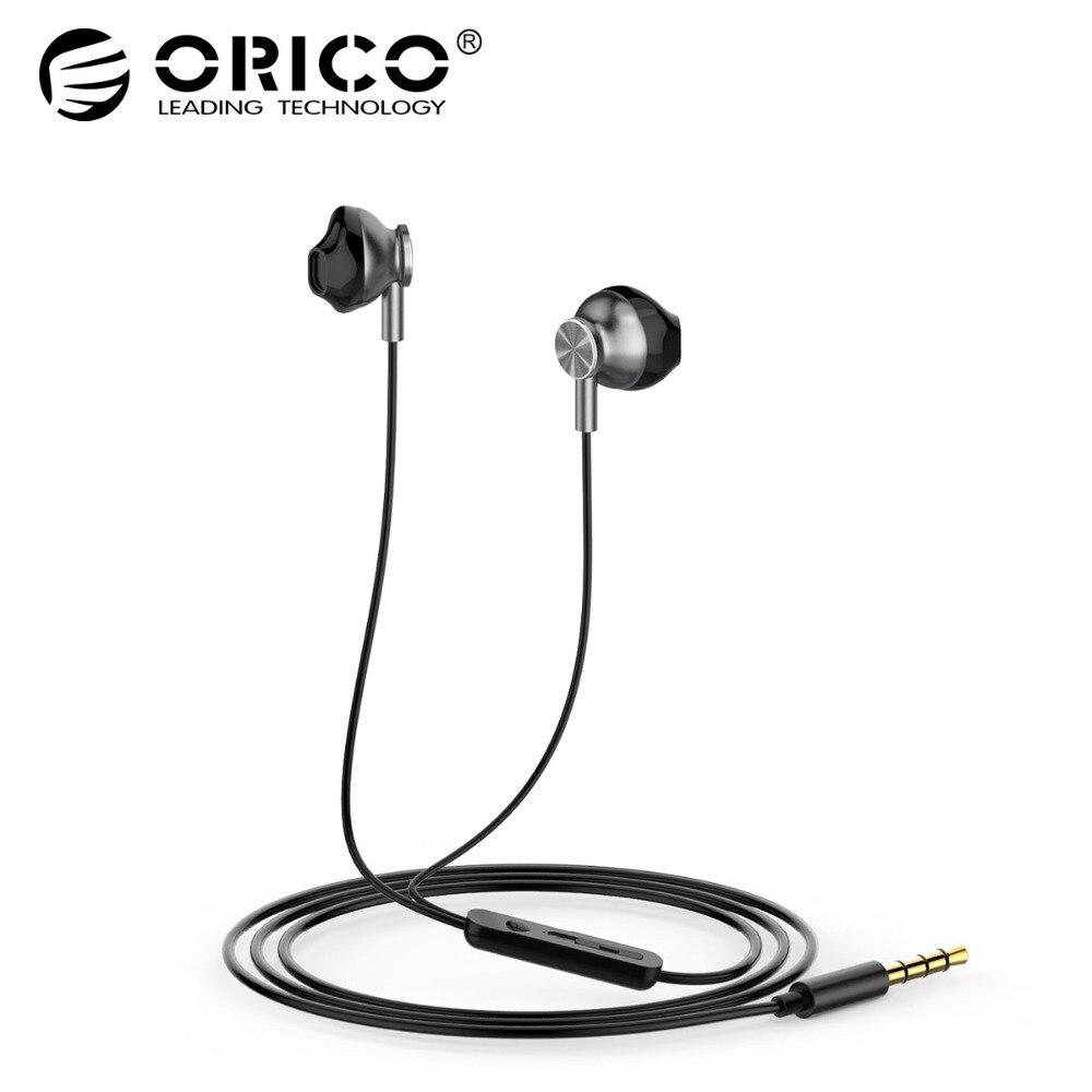 ORICO Original In Ear Earphone Noise Isolating Metal Hi fi