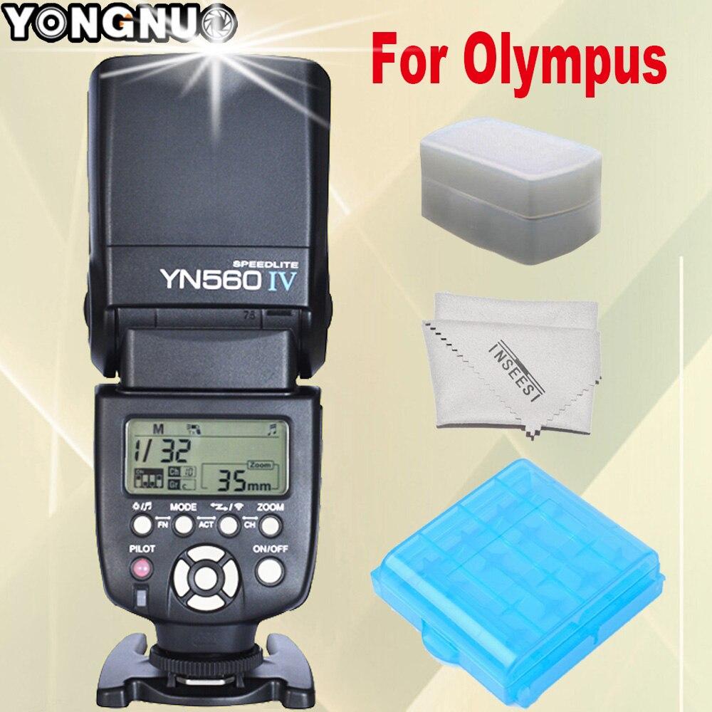 YONGNUO YN560 IV YN560IV YN-560IV YN-560 IV For Olympus E5 E3 E30 E300 E620 E520 E420 E450 E-P2 Wireless Camera Flash Speedlite 2pack bls 1 bls1 bls 1 rechargeable li ion batteries lcd charger for olympus e pl1 e400 e410 e420 e450 e620 e p1e p2