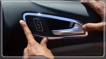 4 шт./компл. салона ручки чаши чехол накладка для Ford Escape/Kuga 2013 2014 2015 2016 2017 Car Cover авто аксессуары