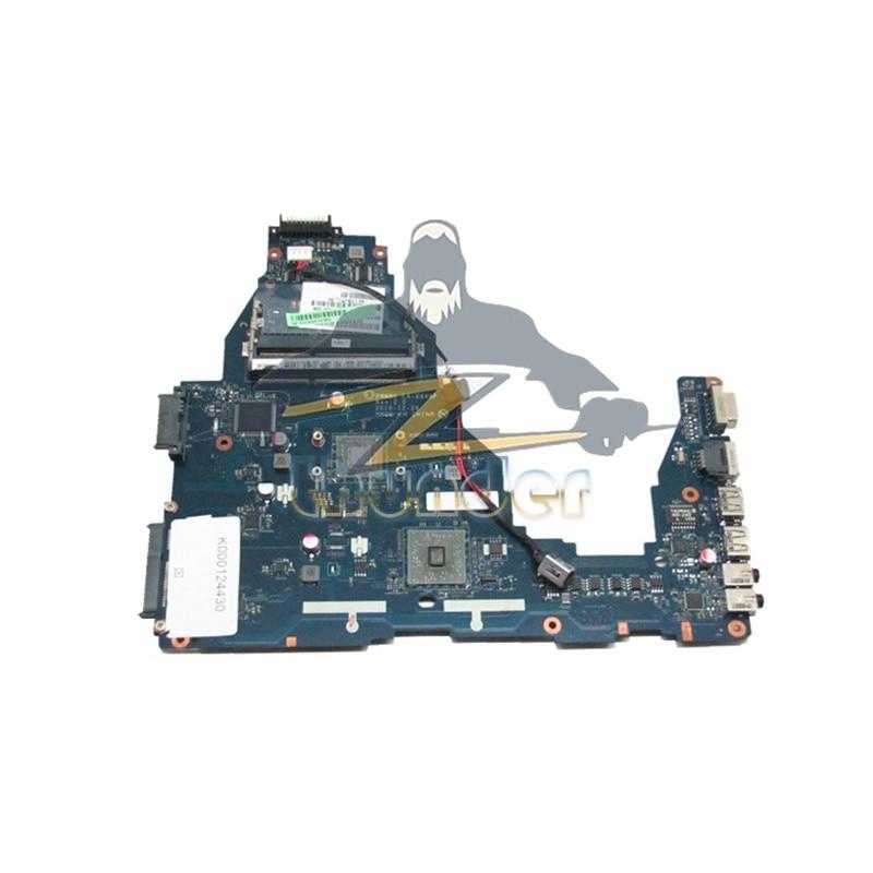 NOKOTION K000124430 PWWBE LA-6849P for toshiba satellite C660 laptop motherboard E350 DDR3