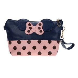 Imprimer Dot papillon sac à main Adorable sac cosmétique sac de rangement sacs de voyage laver maquillage cas organisateur(China)