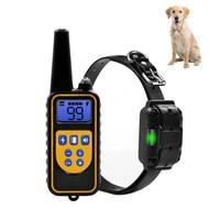 Petacc Elektryczne Dog Bark Collar Akumulator Tresura psów Obroża IP7 Wodoodporny Zwierzę Kora Sterowania Urządzenia