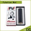 Новый Продажа Fuhattan Мод Красная Медь Электронной Сигареты Machanical Mod Стиле США Манхэттен Мод подходит аккумулятор 18650