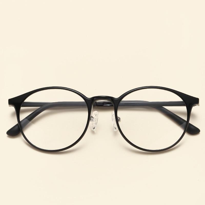 NOSSA Quality Tungsten Ultem Glasses Frames Men & Women Round Optical Frames Vintage Ultralight Spectacles Casual Eyewear Frame