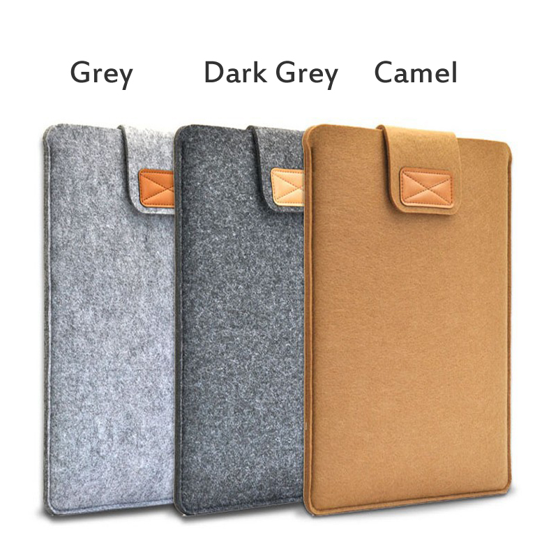 Woo felt Tablet Sleeve Bag for <font><b>Ipad</b></font> 9.7 2017 2018 Air <font><b>Pro</b></font> 8 <font><b>10</b></font>.1 Inch Universal Case Mini 2 3 4 <font><b>5</b></font> Huawei Samsung Pouch <font><b>funda</b></font> image