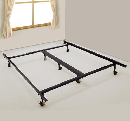 Ajustable Queen King Size Metal saco de dormir plataforma colchón de ...