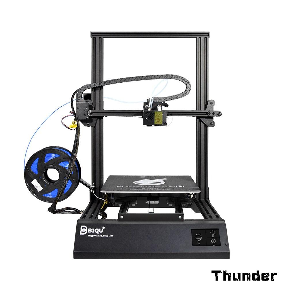 BIQU Thunder DIY 3D Printer Metal Auto leveling Reprap i3 Printer Dua Z Filament Sensor Mk8 Extruder Impressora 3D Drucker