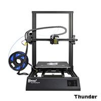 BIQU Thunder DIY 3D Printer Metal Auto leveling Reprap i3 Printer Filament Sensor Mk8 Extruder Impressora Super Smart 3d printer