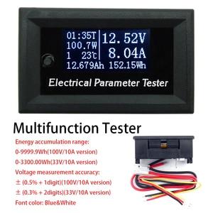 Multifunctional OLED voltmeter