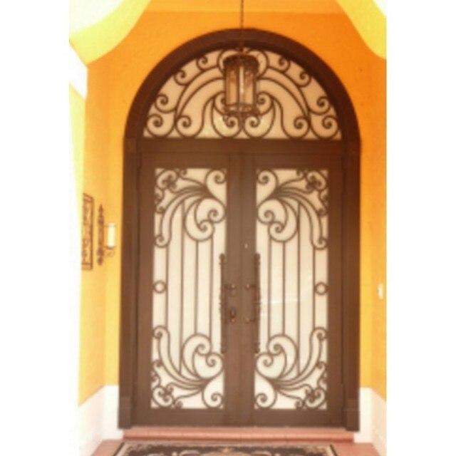 Favoloso Metallo, vetro, porte a doppia entrata di lusso doppie porte d  TC84