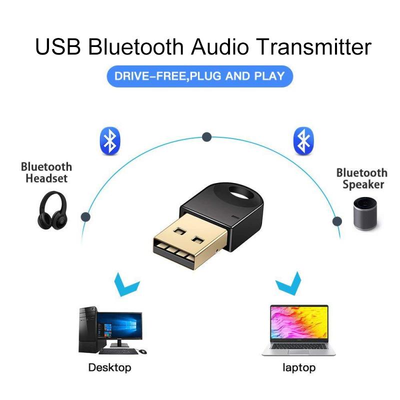Wireless Usb Bluetooth 4 2 Adapter For Computer Wireless Headset Bluetooth Dongle Receiver Bluetooth Speaker Csr 4 2 Free Driver Wireless Adapter Aliexpress