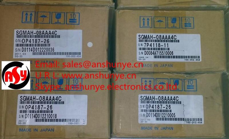 NEW YASKAWA AC Servo Motor SGMAH-08AAA4C ,BRAND-NEW IN ORIGINAL PACKAGING dhl ems 1pc used yaskawa sgmah 01aaa41 a2