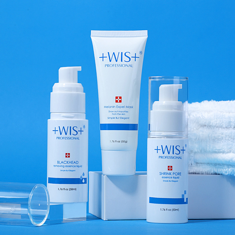 WIS to blackhead shrink pores set men and women sucking blackheads acne export liquid tearing mask nasal stickers