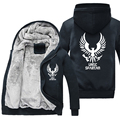 Alta qualidade Jacket Top Brasão Moletons Hoodies Auréola UNSC Traje Cosplay