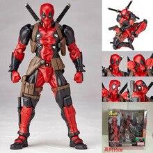 ימגוצ 'י Revoltech Deadpool גיבור צלמיות ילדים צעצועי בני ילדים PVC פעולה איור צעצוע בובת מתנה