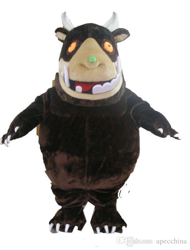 hot new gruffaloe mascot costume custom mascot made party outfits carnival costumes christmas dress
