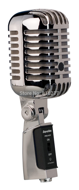 superlux proh7f mkii retro style super cardioid dynamic microphone