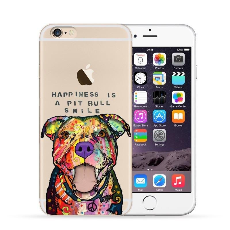 coque iphone 6 pitbull