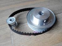 Timing Belt Pulleys HTD3M 4 1 60T 15Teeth Transmission Synchronous Belt Deceleration Suite Engraving Machine Parts
