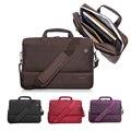 """Diseño de nylon de alta calidad 15 15.4 15.6 """"laptop bag shoulder bag la bolsa de mensajero bolso de la honda para macbook hp hombre mujer universal 17 17.3"""