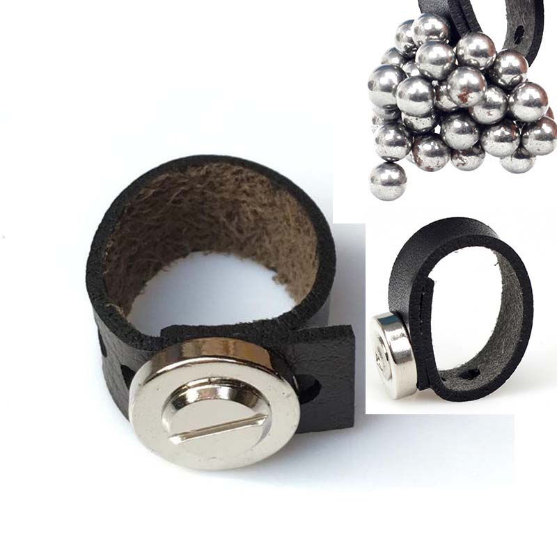 Outdoor Automatic Adjustment Of Strong Magnetic Ring Magnet Magnetic Buckle Slingshot Accessories Slingshot Draws Steel Balls