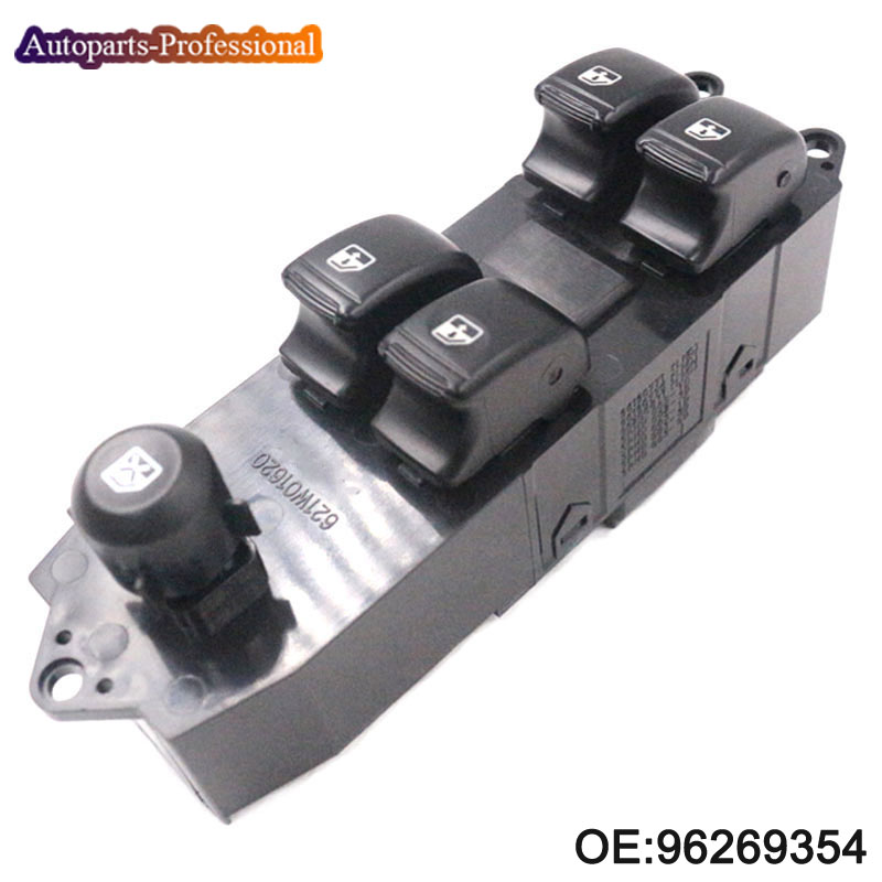 Auto Master Power Door Window Switch For DAEWOO NUBIRA LHD Left Driver Side 96269354 96269353 Car Accessories