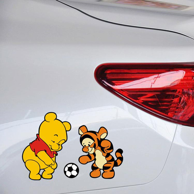Aliexpresscom  Buy Car Styling Winnie The Pooh And Tiger Play