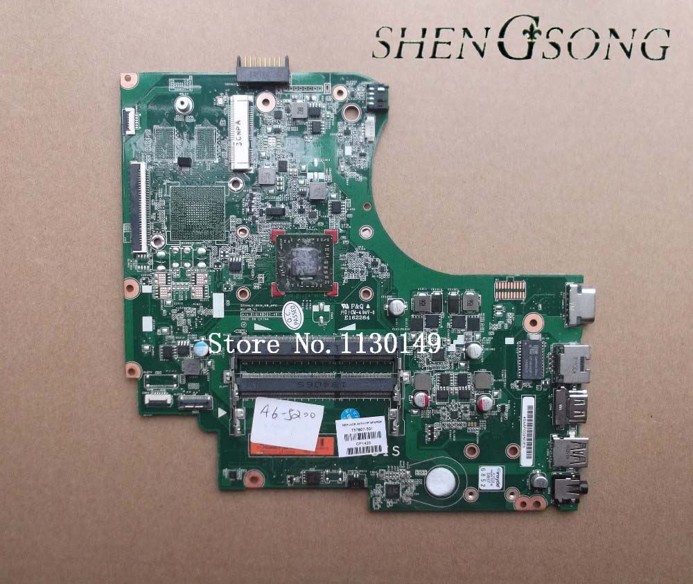 757807-501 757807-601 Free shipping 757807-001 For HP untuk 15-D motherboard A6-5200 cpu DDR3 100% fully tested !!! 712921 501 712921 001 free shipping for hp 4540s 4440s motherboard 4540s with cpu i3 3110m ddr3 tested