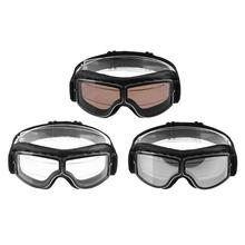 vintage motorcycle helmet goggles retro scooter harley moto helmets glass windproof protective gear eyewear Free Size 3 Colors