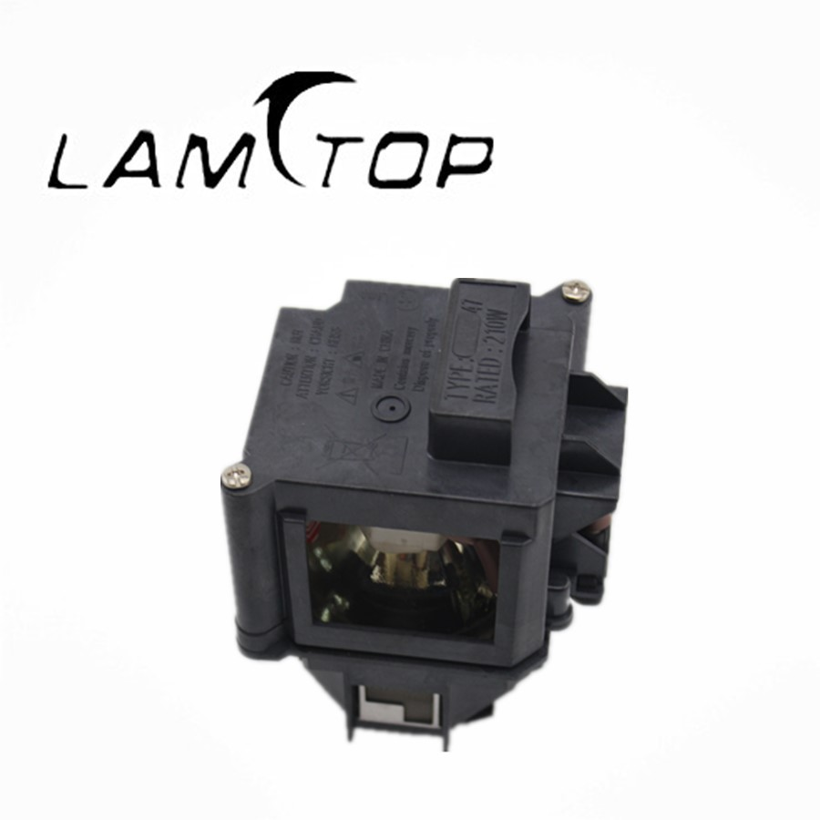 FREE SHIPPING  LAMTOP  180 days warranty  projector lamps with housing NSHA 210WP21.7 53*53 ELPLP47/V13H010L47  for  EB-G5100 free shipping new projector lamps bulbs elplp55 v13h010l55 for epson eb w8d eb dm30 etc