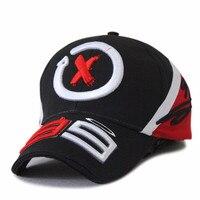 Black F1 Sport Fans Basseball Cap 99 Lorenzo Moto Gp Motorcycle Driver Trucker Baseball Cap Hats