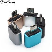 Адаптер otg micro usb 20 hug конвертер для камеры android телефона