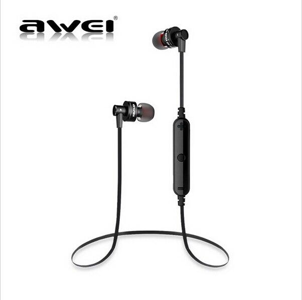 Awei A990BL Bluetooth4.0 Casque Sans Fil Sport Sweatproof design Écouteurs avec Contrôle Du Volume Mains Libres Chansons Piste Fonction