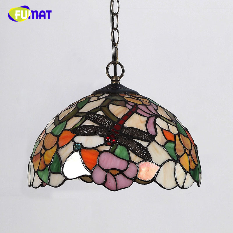 Fumat glass dragonfly shade lamp creative stained glass pendant lamp fumat glass dragonfly shade lamp creative stained glass pendant lamp for dining room living room led glass art pendant lamps in pendant lights from lights aloadofball Image collections