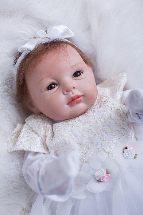Boneca Reborn bébé poupées pour filles 22 pouces 55 cm doux au toucher silicone reborn poupées jouets enfants cadeau d'anniversaire enfant en bas âge bebes reborn