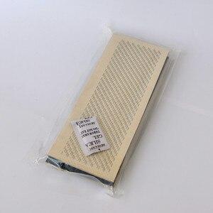 Image 3 - 24cm x 9cm שיער הציור בתפזורת שיער הארכת כלים שיער הרחבות ציור כרטיס (עור כרית) עם מחטים