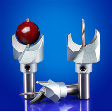 6mm 30mm Milling Cutter Router Bit Buddha Beads Ball Knife Woodworking Tools 10mm Shank Wooden Beads Drill For Fresas Para CNC