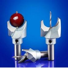 6mm 30mm fraise routeur Bit bouddha perles balle couteau outils de travail du bois 10mm tige perles en bois perceuse pour Fresas Para CNC
