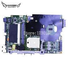Оригинал для asus k40ab ноутбук материнская плата k50ab x5dab k40ad k40af x8aaf x5daf k50ad k50af mainboard ddr2 испытанное идеально