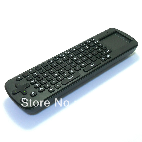 Free shipping New Measy RC12 2-IN-1 Smart Wireless 2.4GHz Air Mouse + Touchpad Handheld Keyboard Combo, Wholesale