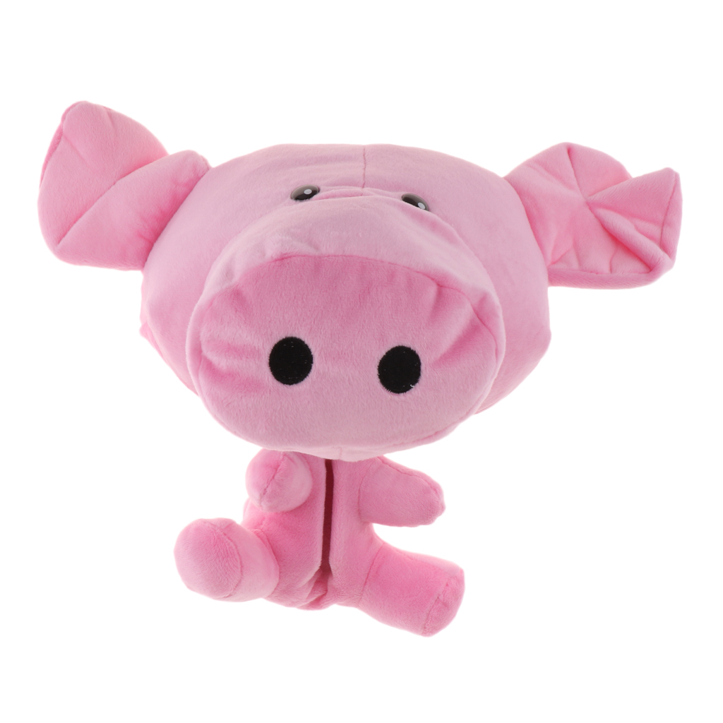 Pink Pig Animal Outdoor Sports Golf Head Cover Protector Universal For 460cc / No.1 Wood Driver