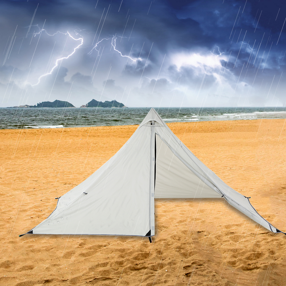 Double Layer Water Resistant Backpacking Tent Outdoor Camping Tent 2  PeopleTent for Fishing Hunting Beach Travel