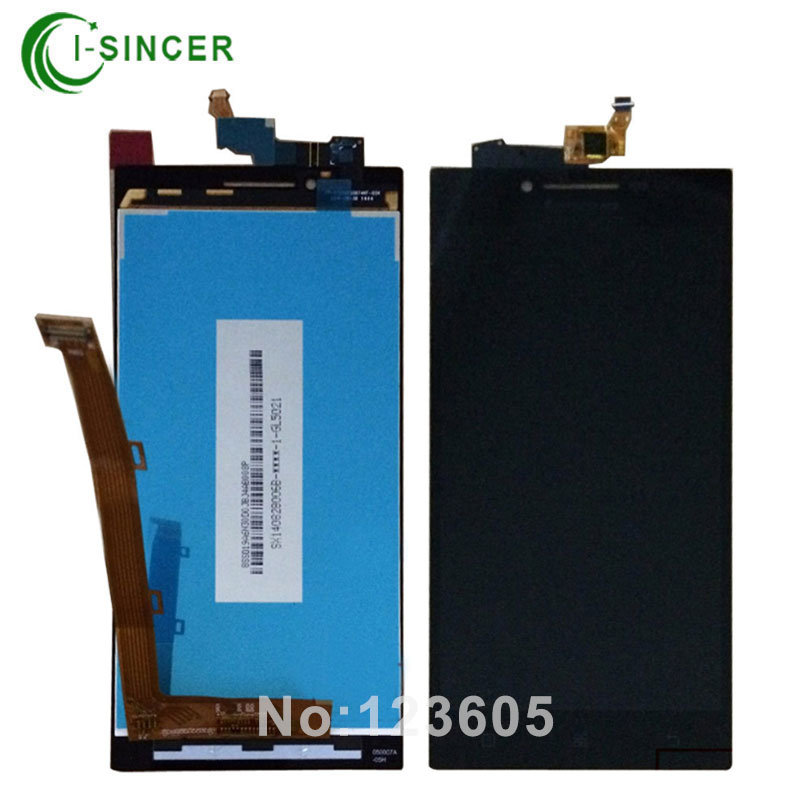 1/PCS Guarantee LCD Display Touch Digitizer Screen Assembly Complete For Lenovo P70 P70T Free Shipping