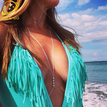 US $1.98 19% OFF|crystal pendant necklace sexy bikini breast bra chain maxi collier sautoir long necklace women body jewelry-in Chain Necklaces from Jewelry & Accessories on Aliexpress.com | Alibaba Group