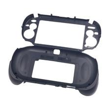 лучшая цена Matte Hand Grip Handle Joypad Stand Case with L2 R2 Trigger Button For PSV1000 PSV 1000 PS VITA 1000 Game Console Black