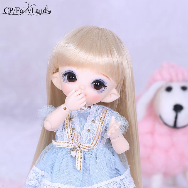 OUENEIFS Pukifee Cupid Fairyland BJD SD Dolls 1/8 Body Resin Model Baby Girl Boy Toy High Quality Gift For Birthday Christmas FL