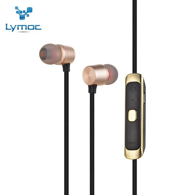 Lymoc Спорт Гарнитура Bluetooth BE368 Беспроводные Наушники Bluetooth CSR8635 V4.1 Наушники Handsfree С МИКРОФОНОМ Для iPhone XiaoMi