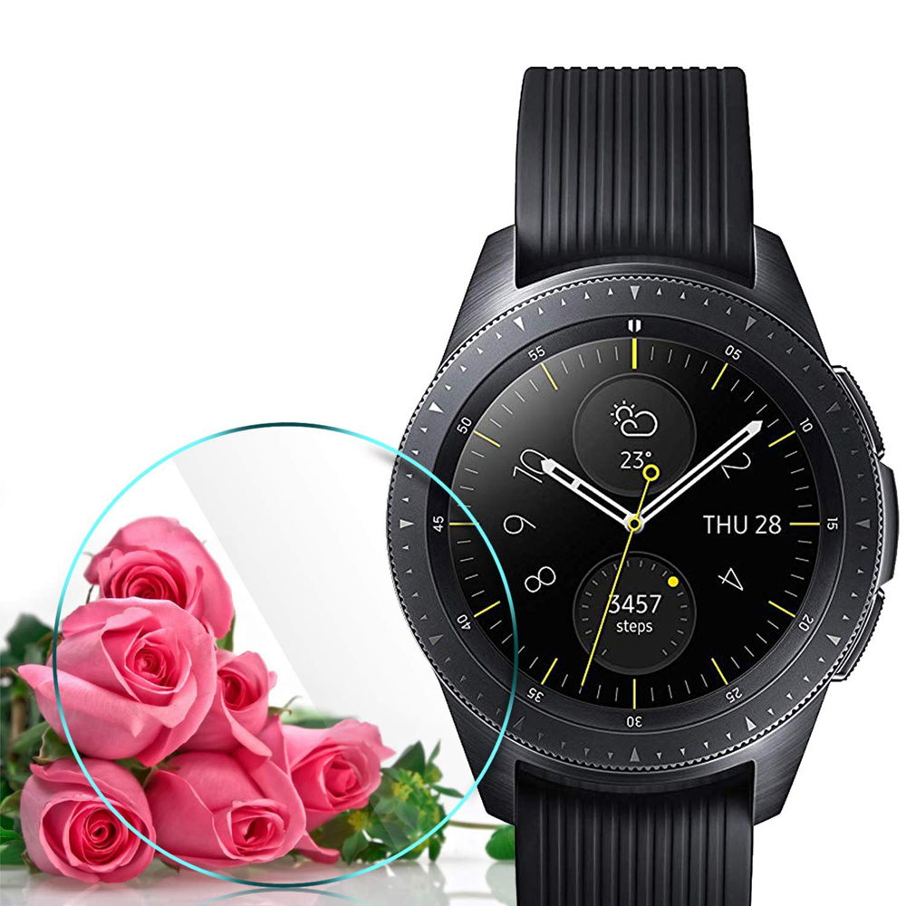 Tempered Glass For Samsung Galaxy Watch 46mm/42mm/Gear S3 3 Frontier/classic S2 Screen Protector Film 9H 2.5D Explosion-proof