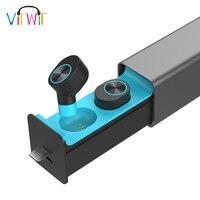 VirWir GW10 Earbuds Wireless Bluetooth Earpiece Sweatproof in ear Earphones Stereo Music Earbuds with mic Hands free Earphones